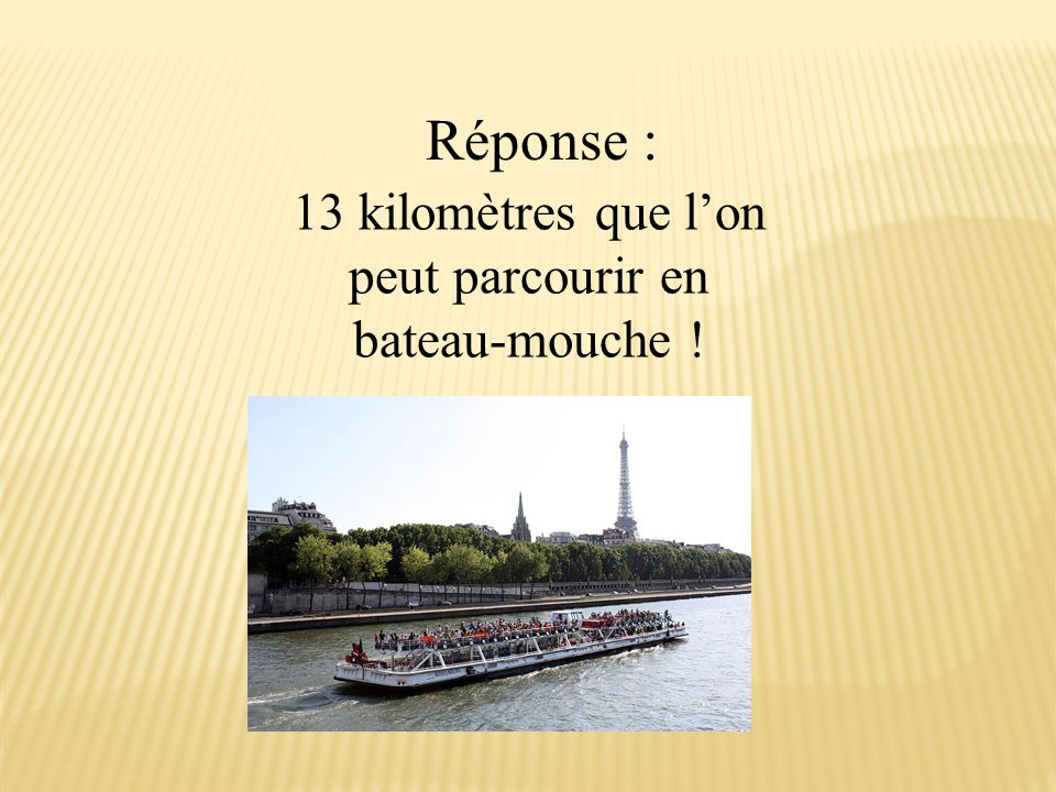 La Tour de Nesle? La Tour Montparnasse? La Tour Eiffel?