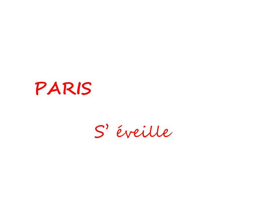 PARIS S' éveille Michèle Thiéchart