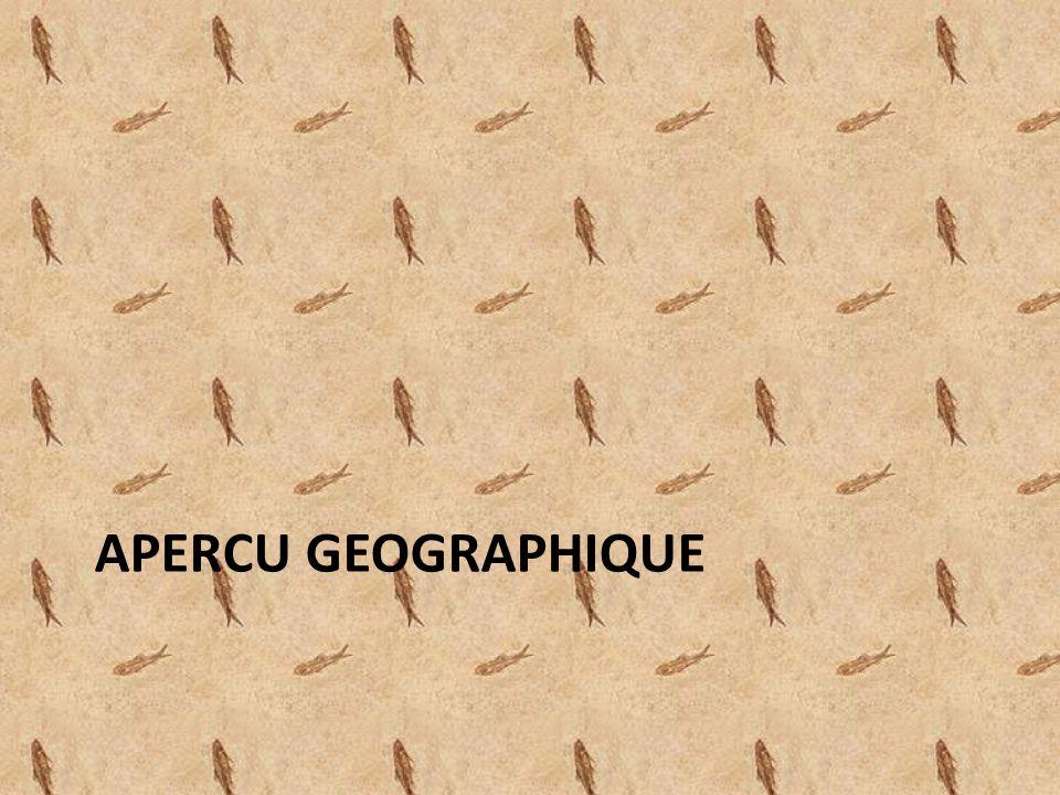 APERCU GEOGRAPHIQUE