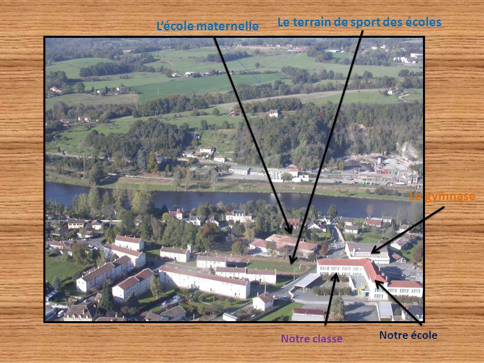 Notre école Notre classe L'école maternelle Le gymnase Le terrain de sport des écoles