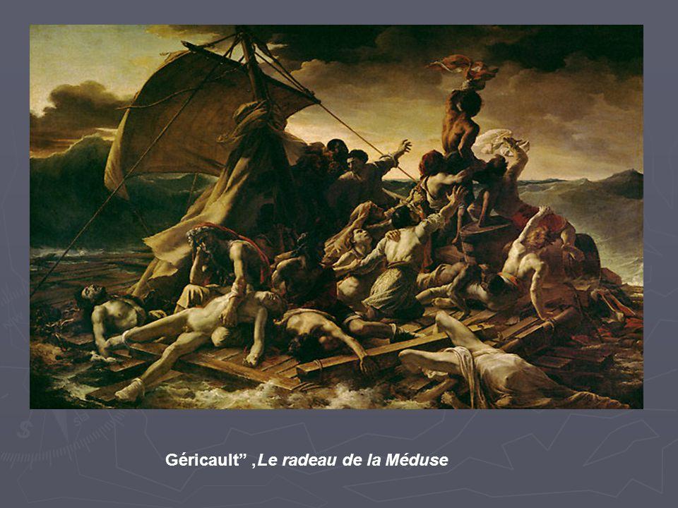 """Le radeau de la Méduse, Géricault"""""""