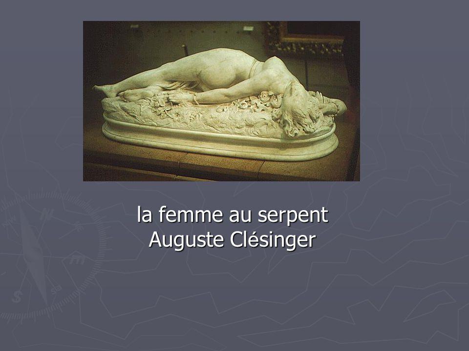 la femme au serpent Auguste Cl é singer la femme au serpent Auguste Cl é singer