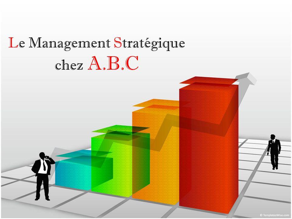 Le Management Stratégique chez A.B.C