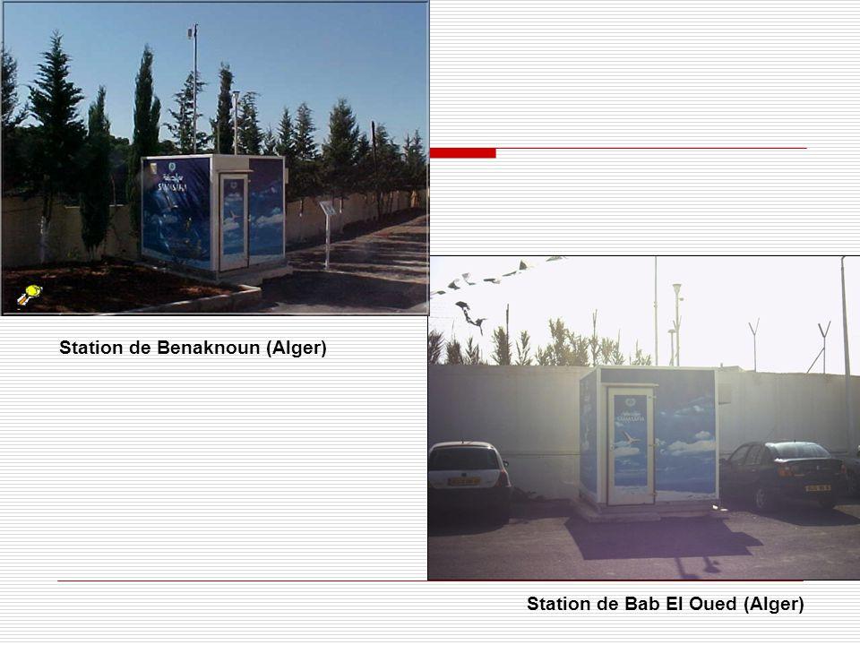 Station de Bab El Oued (Alger) Station de Benaknoun (Alger)