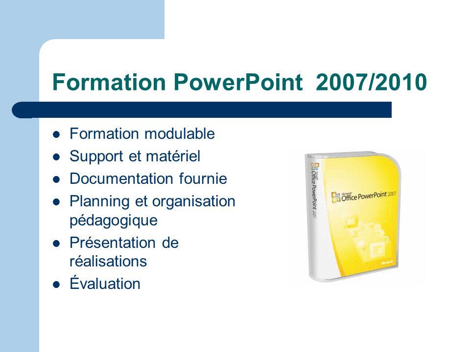 FORMATION POWERPOINT 2007/2010 LA FORMATION SUR MESURE Intervenant Jean Marc HOAREAU