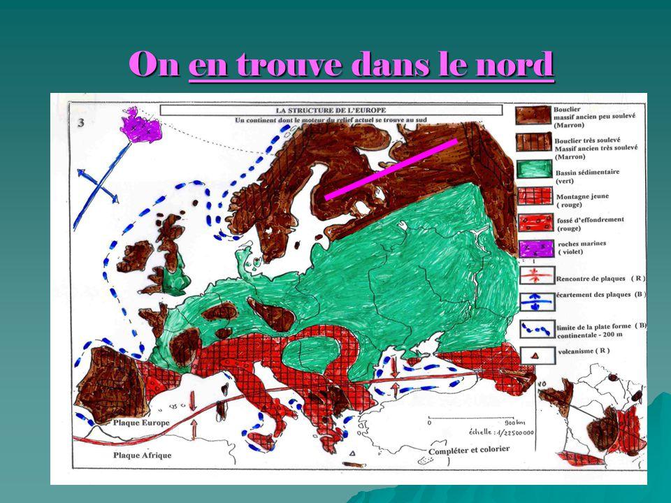 Centre de l'Europe = plaines et plateaux Centre de l'Europe = plaines et plateaux