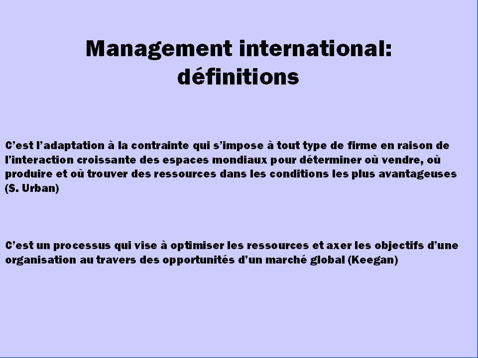 5 LA NOTION DE DISTANCE DISTANCE CULTURELLE DISTANCE ADM.