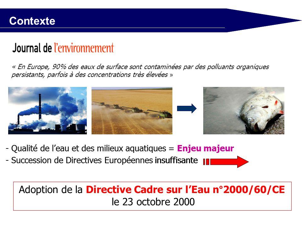 La France parviendra t - elle à atteindre le bon état en 2015 ? Problématique