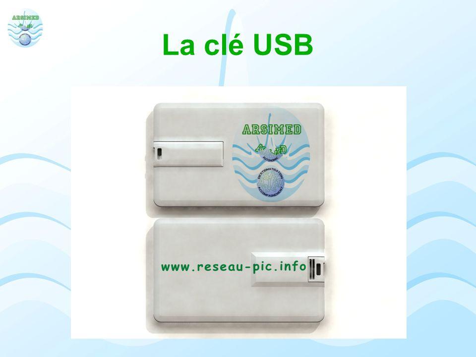 La clé USB