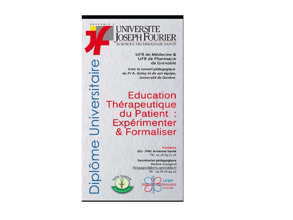 Diplôme d'Université (UFR médecine/pharmacie)