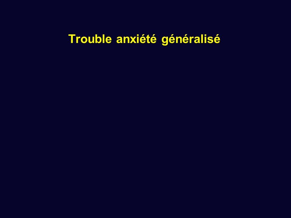 Trouble anxiété généralisé