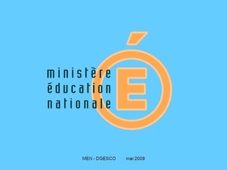MEN - DGESCO mai 2009 Le département est découpé en plusieurs circonscriptions ; l'inspecteur de l'Éducation nationale a la responsabilité de la circonscription.