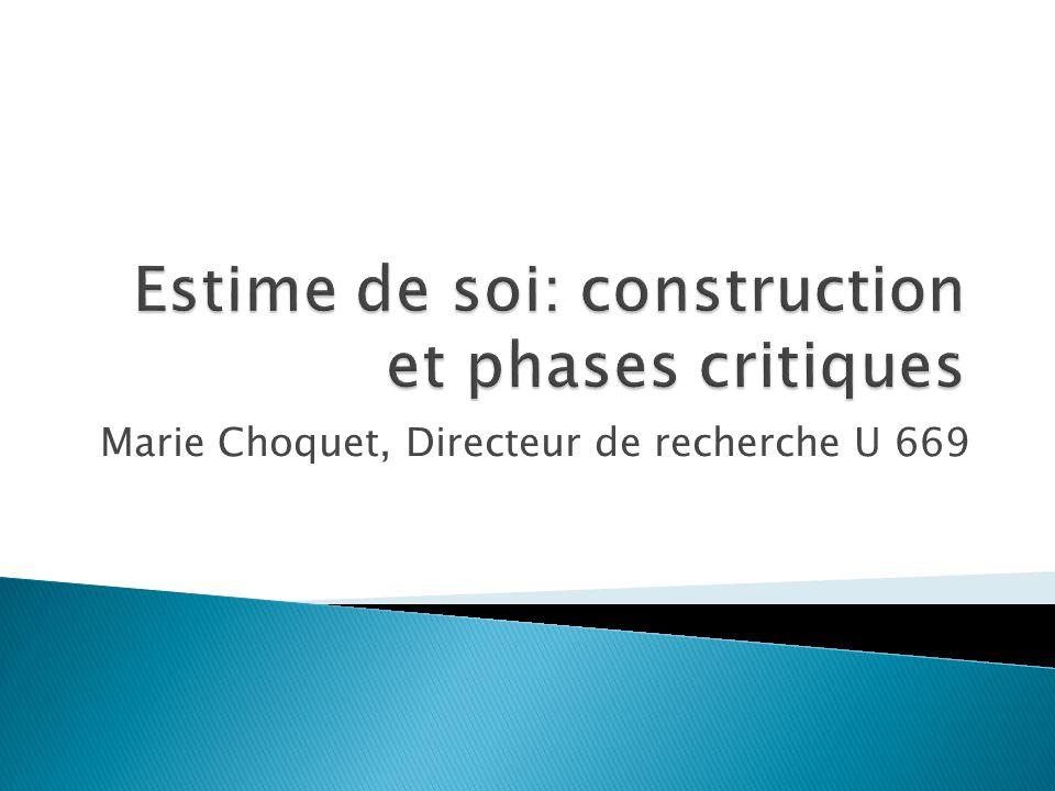 Marie Choquet, Directeur de recherche U 669