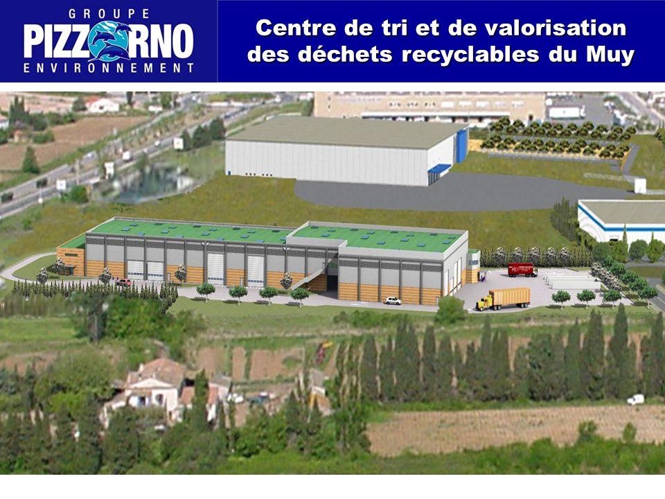 Centre de tri et de valorisation des déchets recyclables du Muy