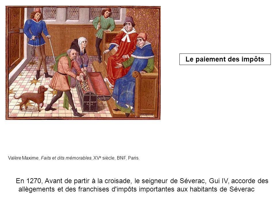 Valère Maxime, Faits et dits mémorables, XV e siècle, BNF, Paris.
