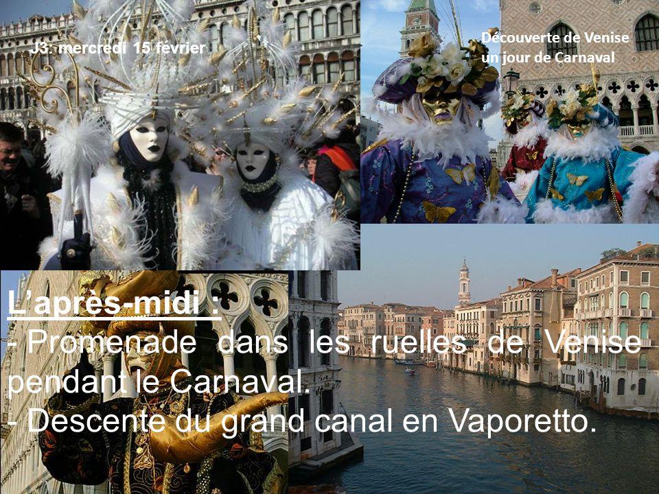 Jour 5: jeudi 16 févrierDécouverte de l'artisanat vénitien Le matin : Conférence et atelier de décoration de masques à l'atelier MAREGA.