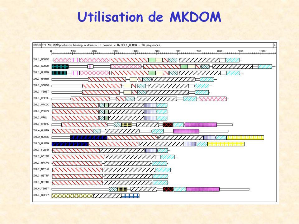 Utilisation de MKDOM