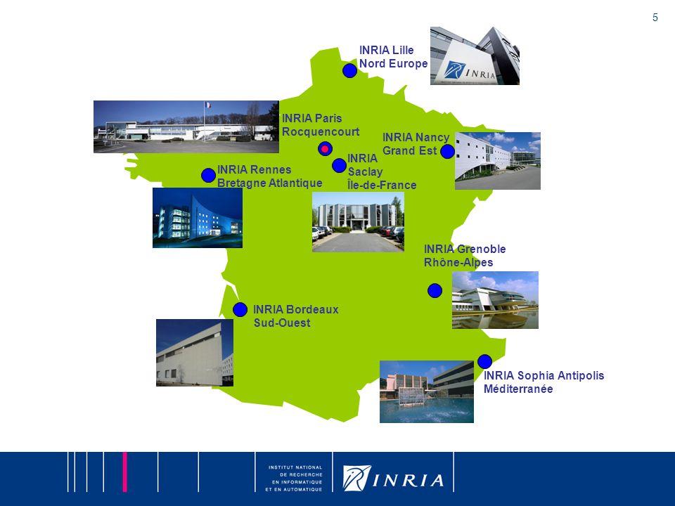 5 INRIA Nancy Grand Est INRIA Grenoble Rhône-Alpes INRIA Sophia Antipolis Méditerranée INRIA Rennes Bretagne Atlantique INRIA Bordeaux Sud-Ouest INRIA