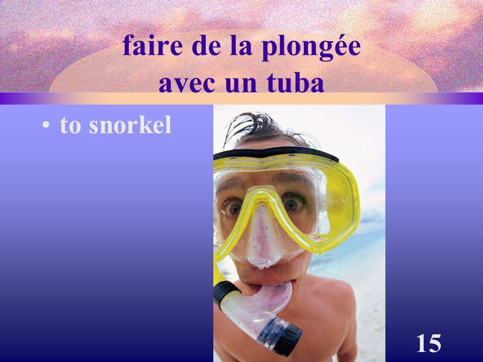 15 faire de la plongée avec un tuba to snorkel