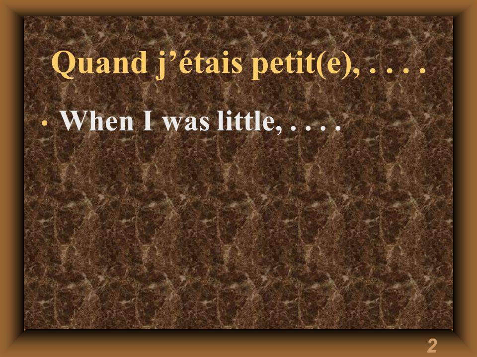 1 Vocabulaire 8.2 Français II
