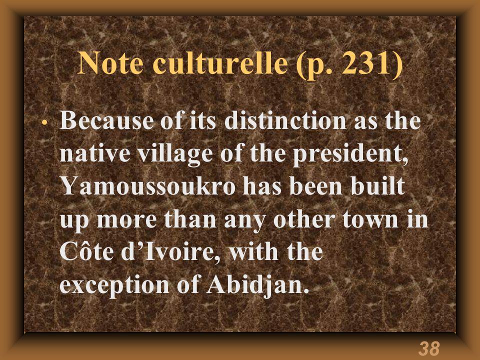 37 Note culturelle (p.