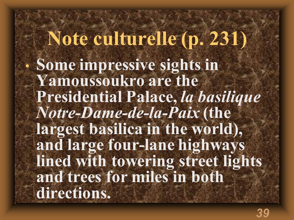 38 Note culturelle (p.