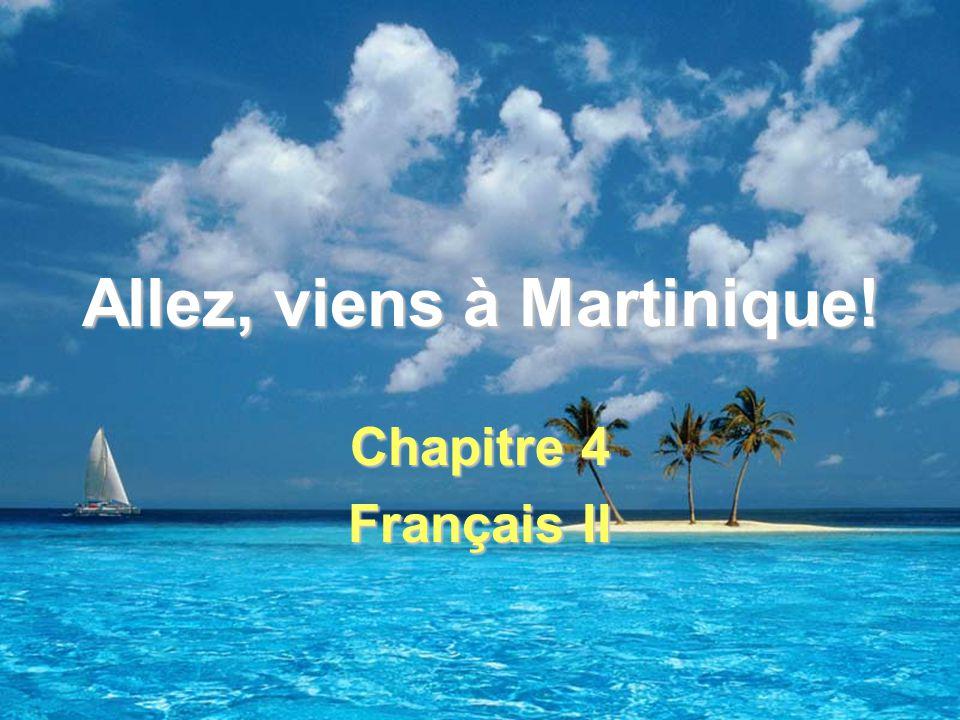 Allez, viens à Martinique! Chapitre 4 Français II