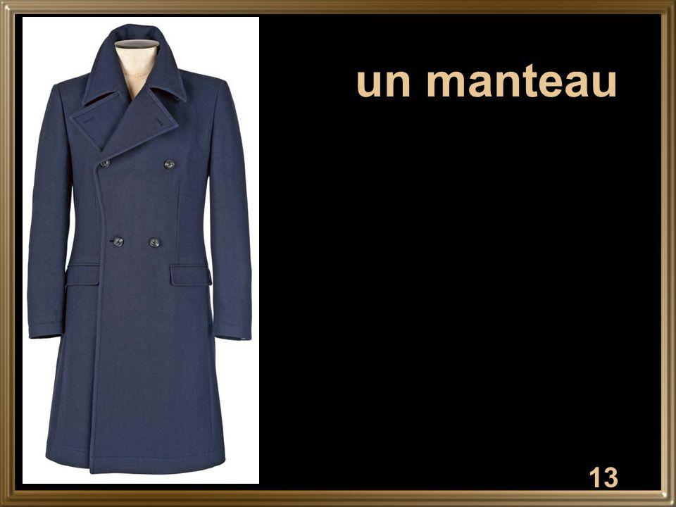 13 un manteau