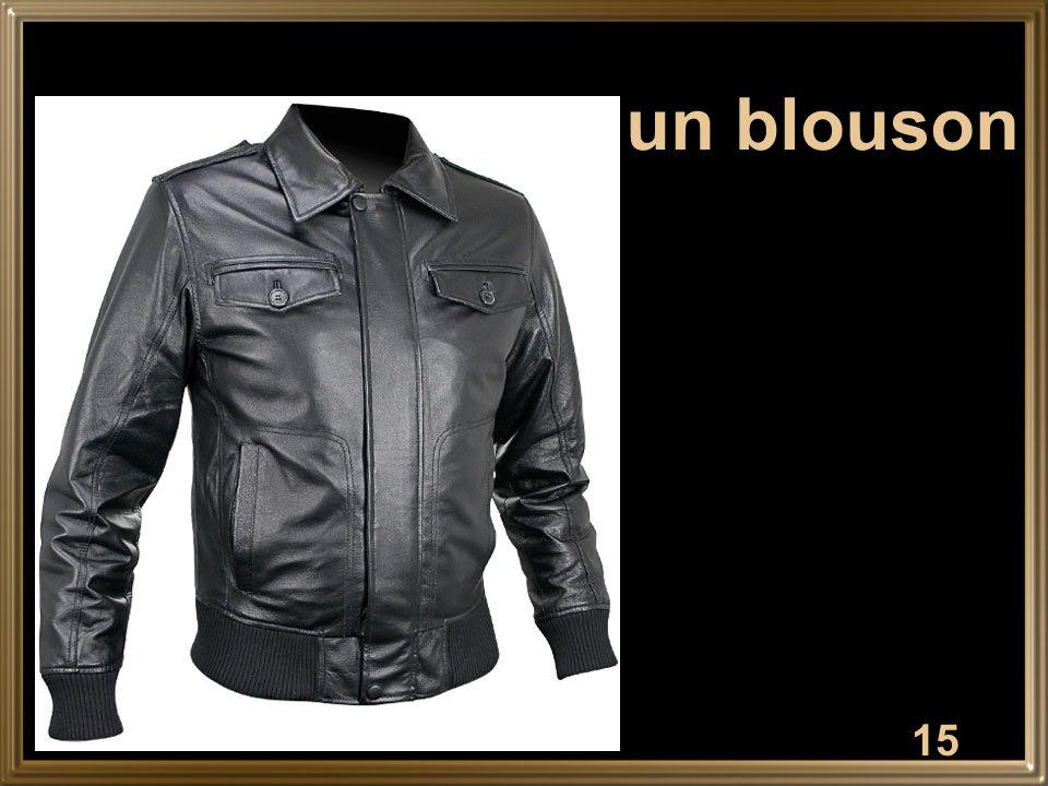 15 un blouson