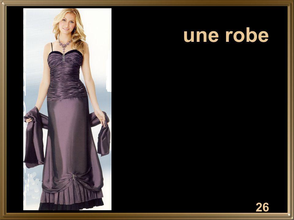 26 une robe