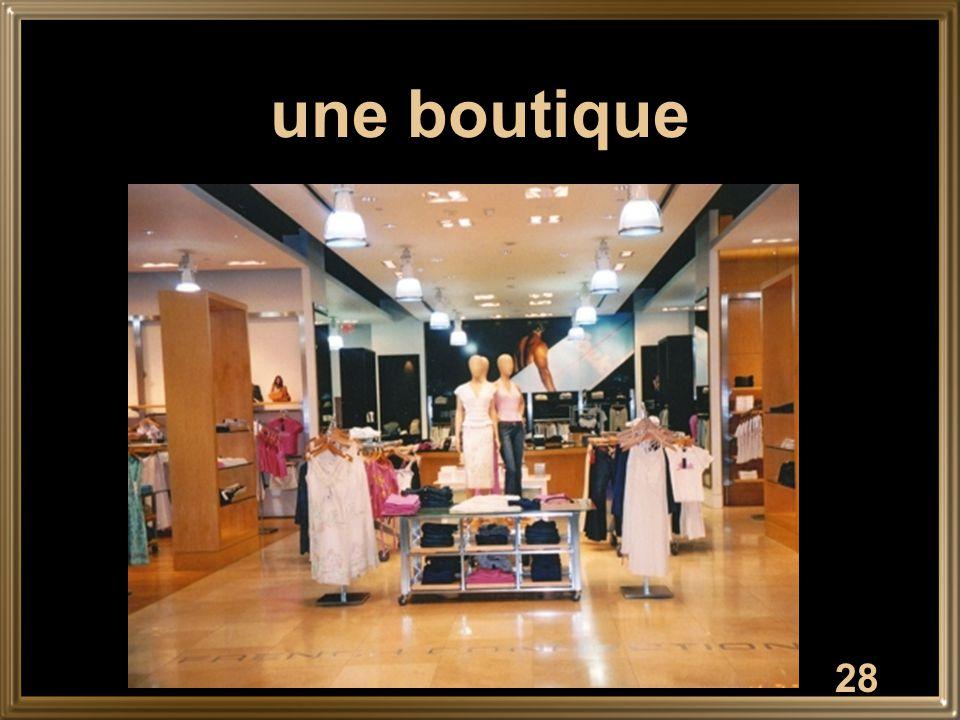 28 une boutique