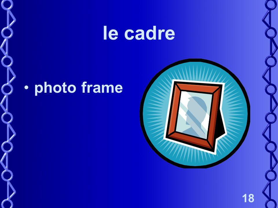 18 le cadre photo frame