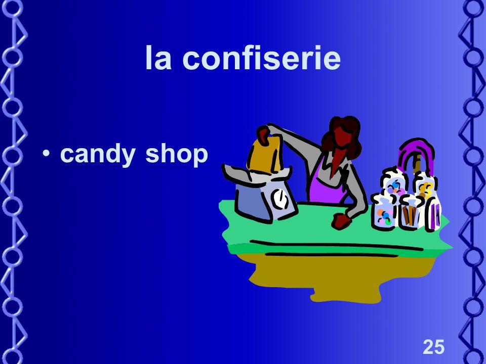 25 la confiserie candy shop