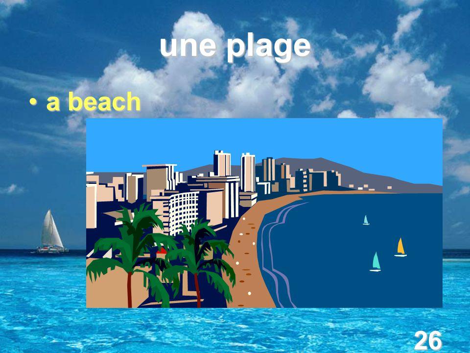 26 une plage a beacha beach