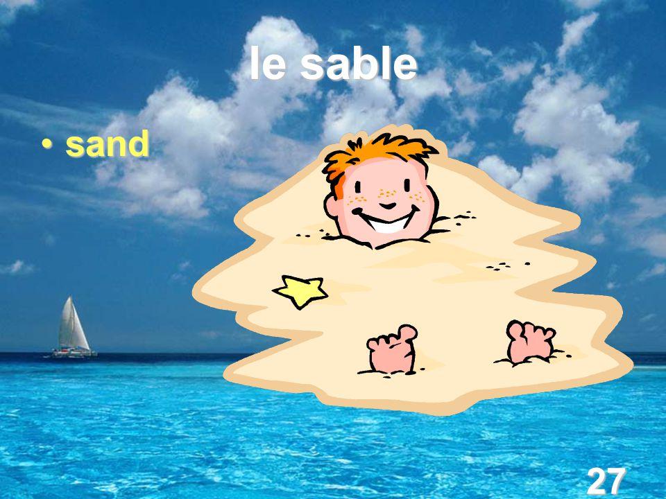 27 le sable sandsand