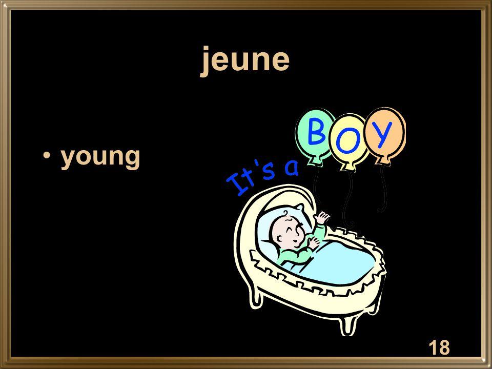 18 jeune young