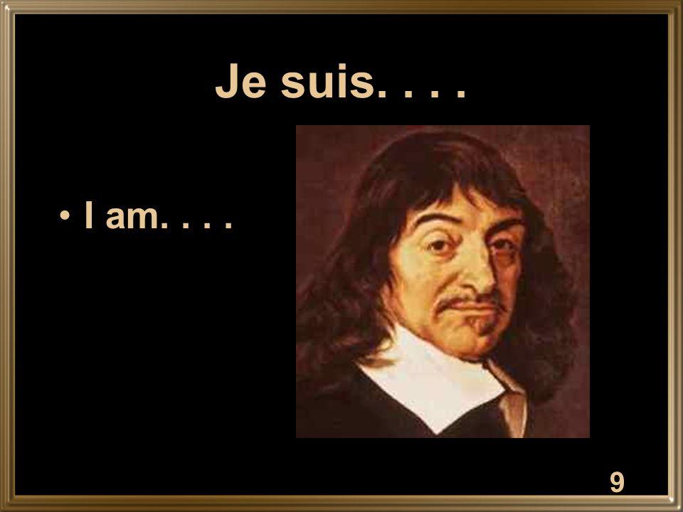 10 Il / Elle est.... He / She is....