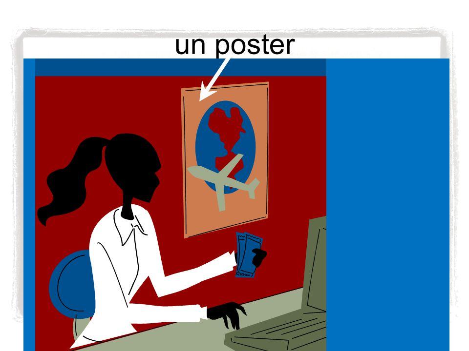 un poster