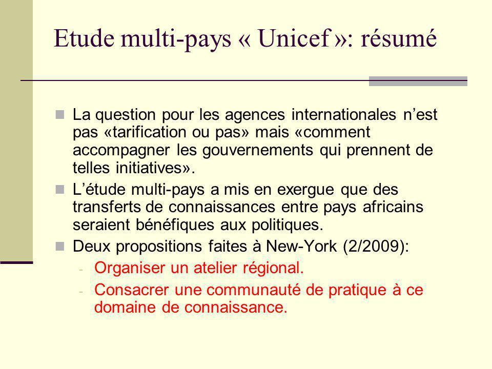 Atelier régional de Dakar Résultat d'une consultation large début 2010: - Focus technique et non politique.