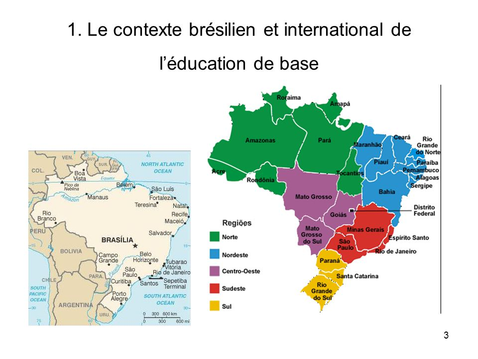 14 Brazilian basic education in international comparison