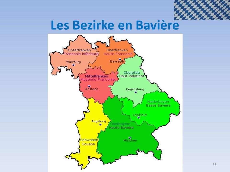 Les Bezirke en Bavière 11