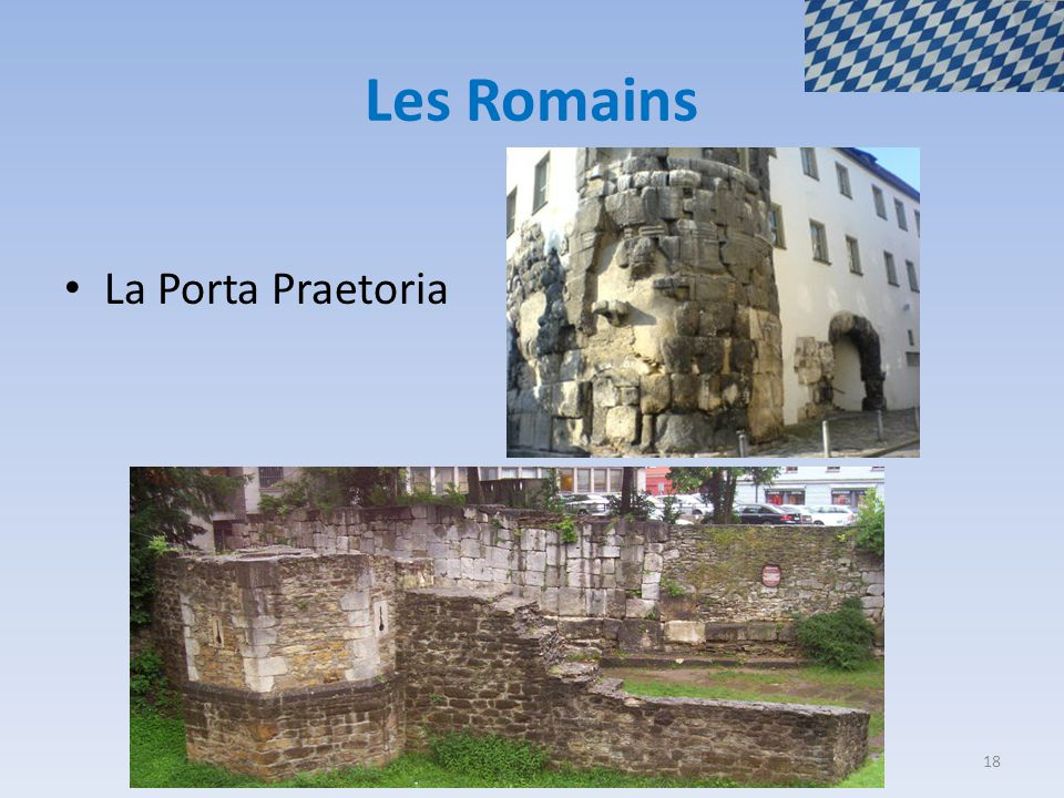 Les Romains La Porta Praetoria 18