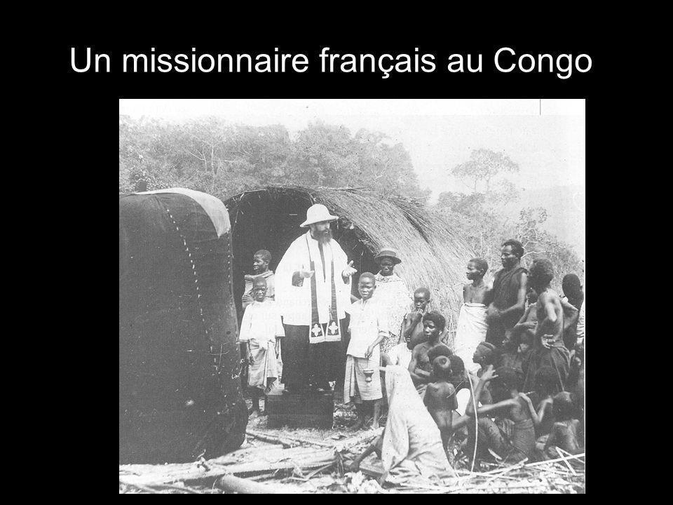 Un missionnaire français au Congo