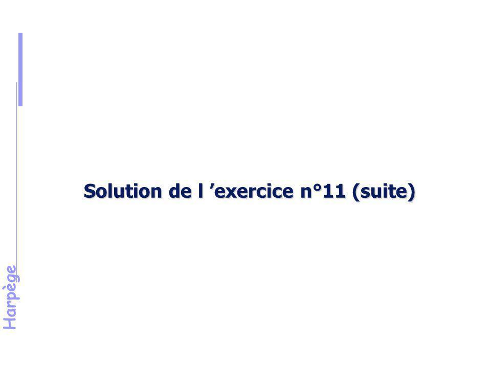 Harpège Exercice 12 Election à un conseil d'U.F.R.