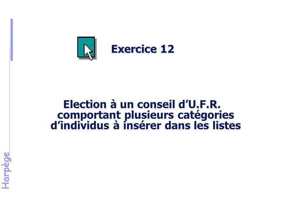 Harpège Exercice n°12 (suite)