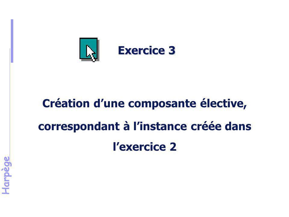 Harpège Solution de l'exercice n°3