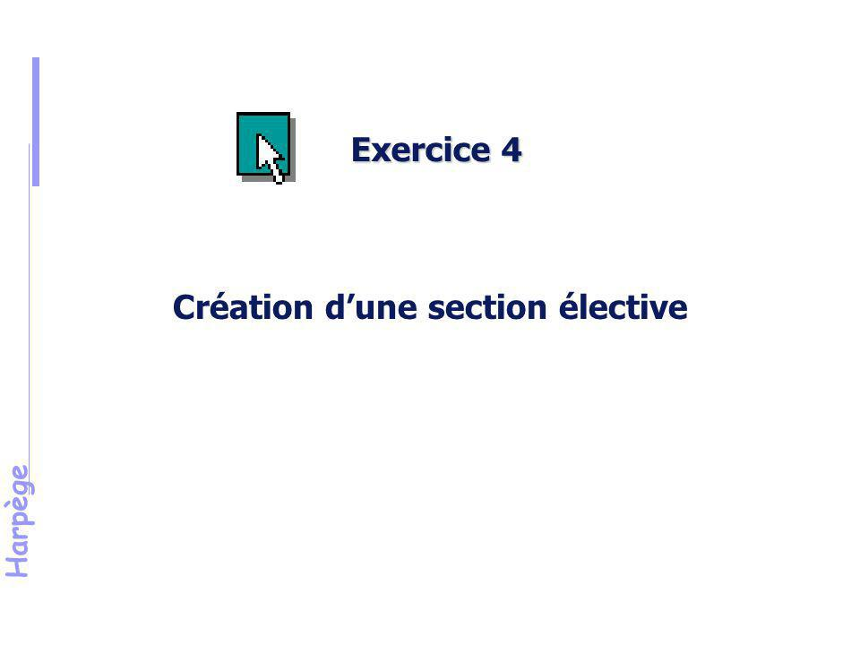 Harpège Solution de l'exercice n°4