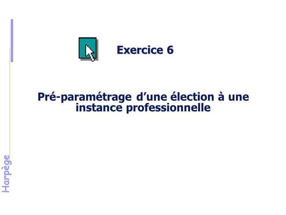Harpège Solution de l 'exercice n°6