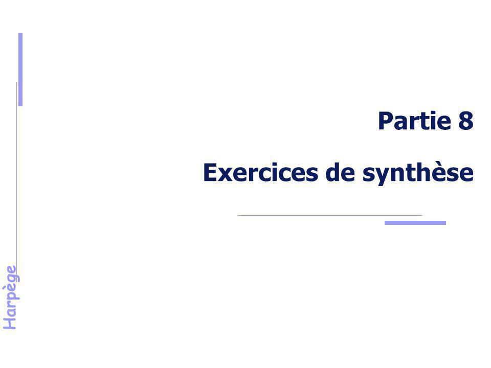 Harpège Exercices de synthèse Exercice n° 8 : Election à un Conseil local d'une Université.