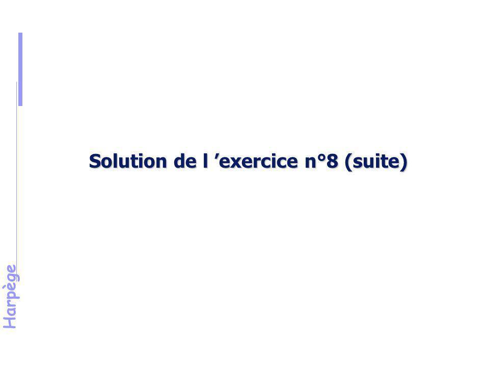 Harpège Exercice 9 Election à une instance professionnelle des personnels IATOS